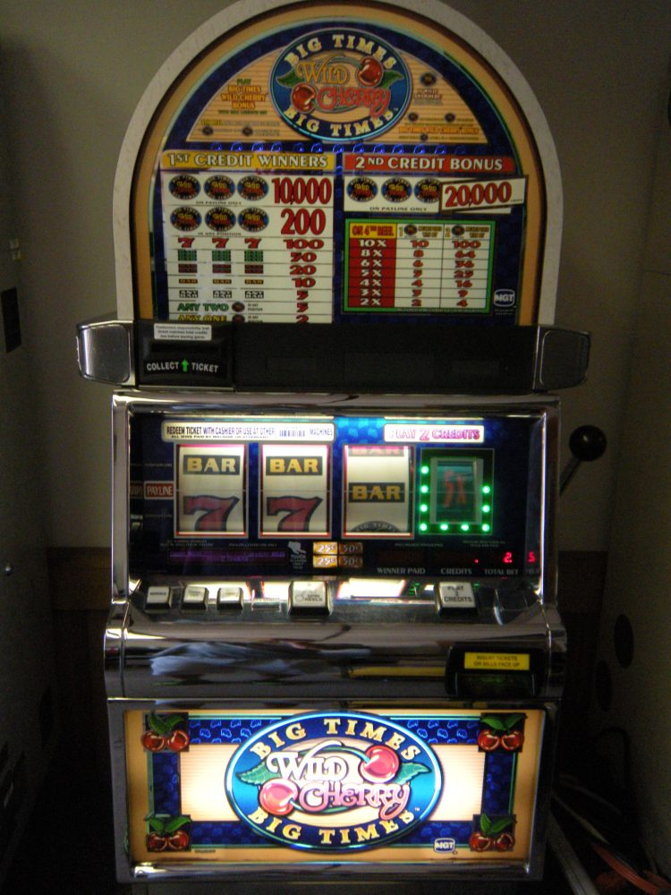 Big Times Wild Cherry Slot Machine