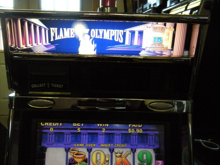 flames of olympus slot machine for sale