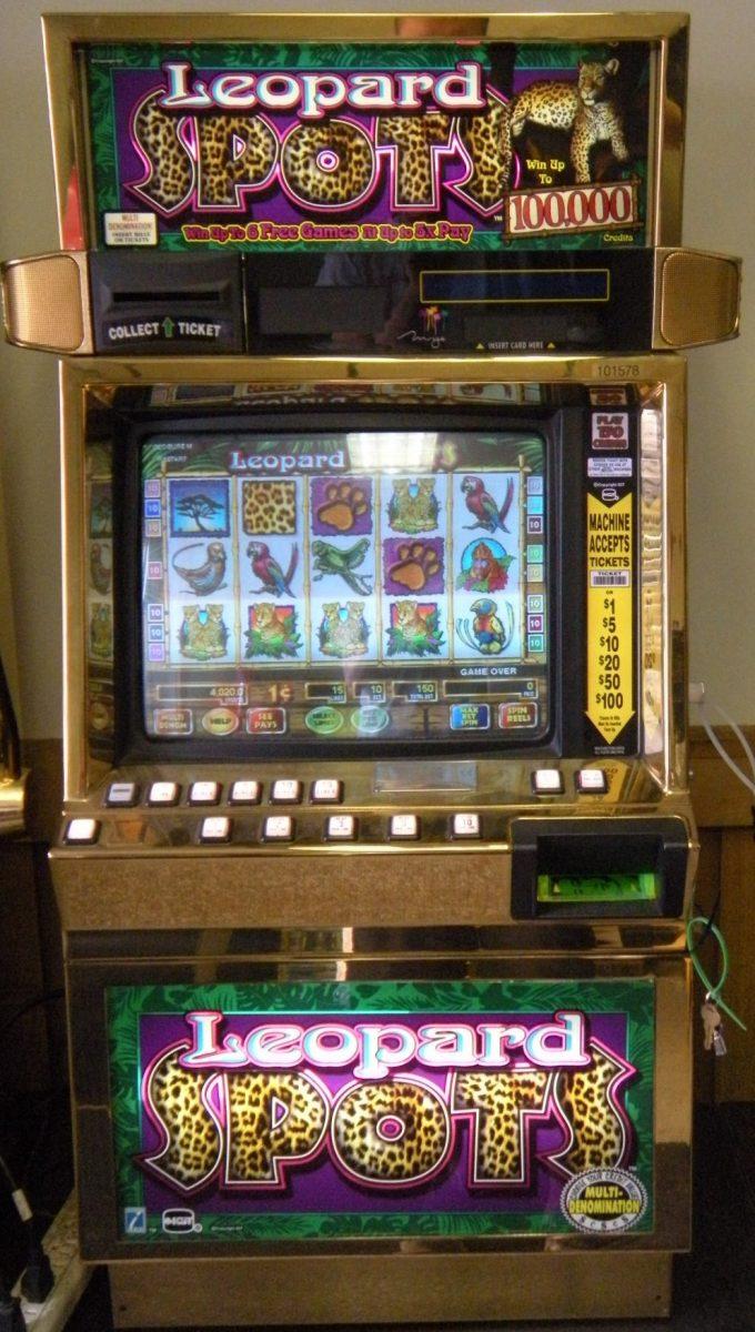 Leopard spots slot machine for sale
